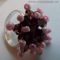 Inel+Arici+cristale+fatetate+-++15+lei