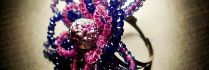 I4 - Margele sticla 2mm + Perle sticla 8mm + Metal nichelat - 7 lei