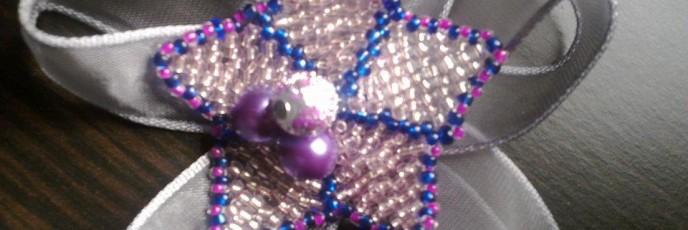M1A - Perle sticla + Margele sticla 2mm + Organza - 7 lei